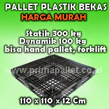 Pallet Plastik 110x110 CM