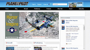 Plane and Pilot Website