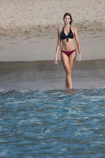 Stephanie Seymour Latest Bikini Photos in ST Baacrts 2013
