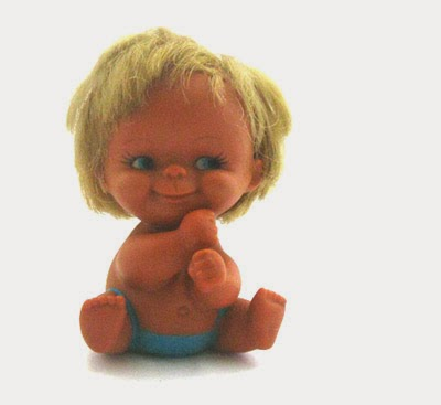 ismoyo's vintage playground - rubber baby boy doll