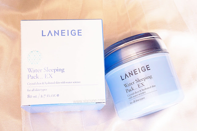 Laneige Water Sleeping Pack_EX, Laneige Water Sleeping Pack review, Laneige sleeping pack review, review produk laneige, review produk sleeping pack laneige