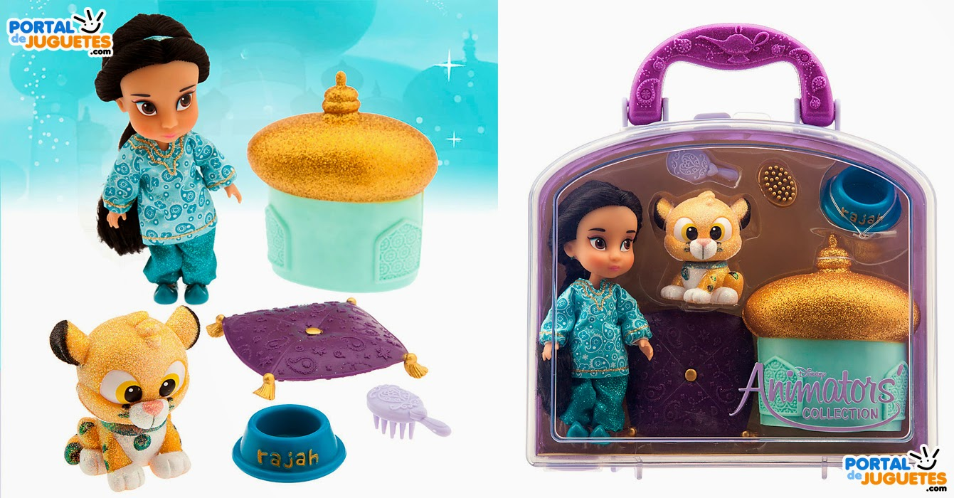 Minimuñeca Yasmin Coleccion Disney Animators