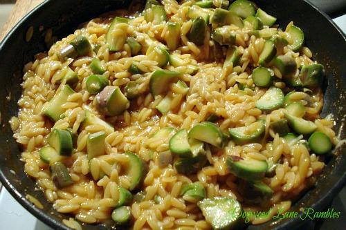 dogwoodlanerambles.blogspot.com Orzo with Asparagus & Parmesan