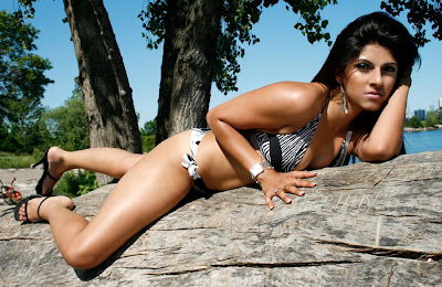 miss pakistan in a bikini latest photos