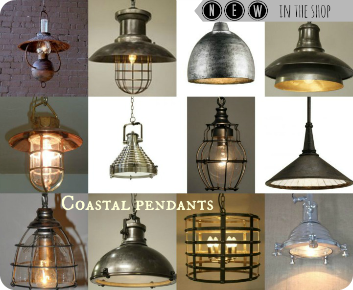 Coastal pendant lights