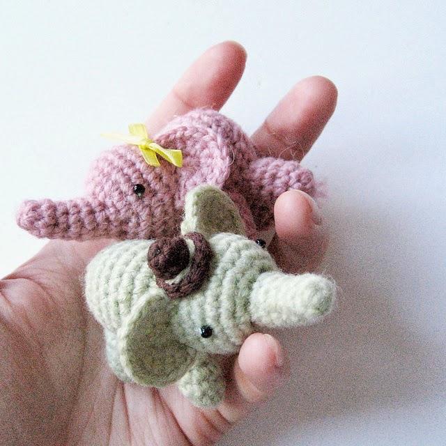 Melissas Crochet Patterns: Happy Save the Elephant Day ...