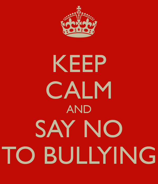 say no to bullying essay So it is easy to say that bullying is affecting many schools and this issue should be addressed should be addressed this trending topic has boomed in most us schools creating the emergence of many organizations and programs at state and local levels that are working towards decreasing bullying.