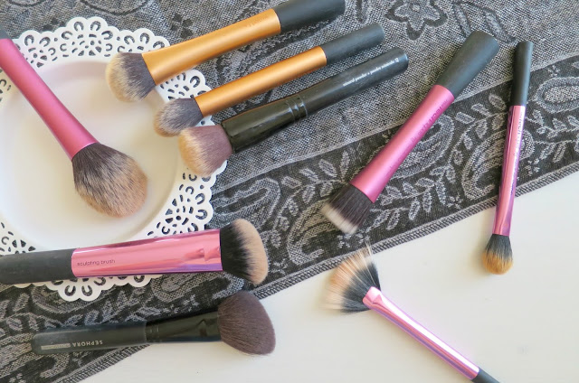 Favourite Makeup Brushes Face Eye Real Techniques Zoeva Sephora