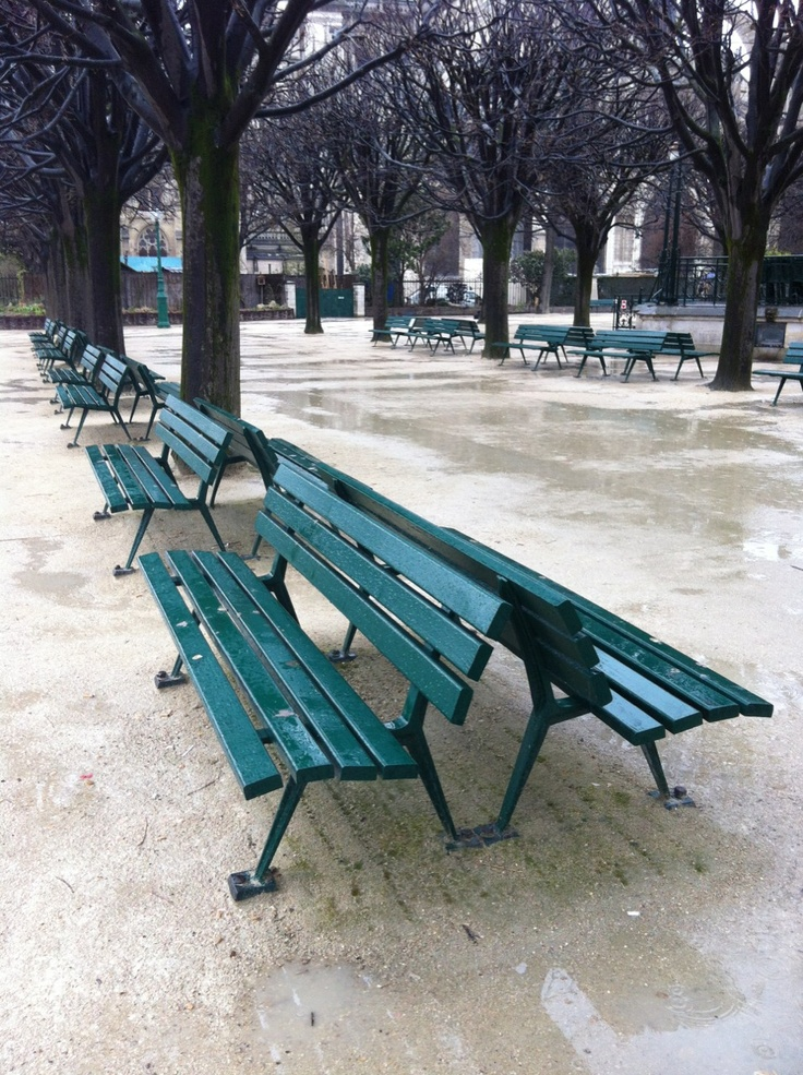 Bancs - Square Jean XXIII - Paris - collection no. 09 by linenandlavender.net: http://www.pinterest.com/linenlavender/ll-collection-no-09/