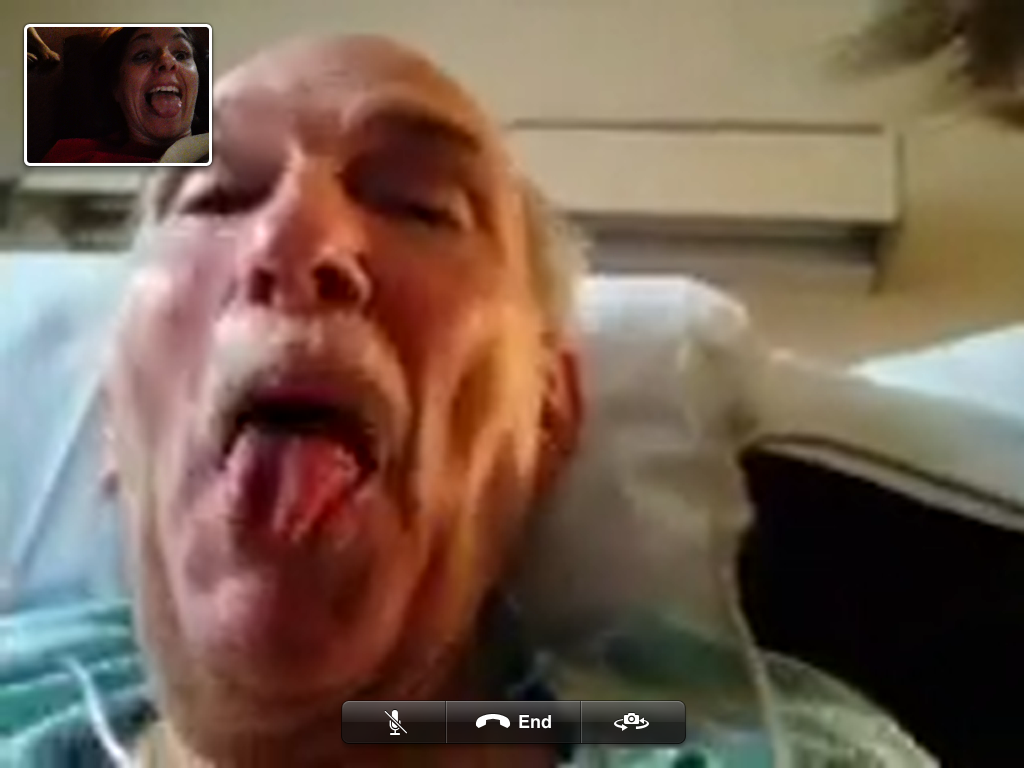 Daddy Facetime
