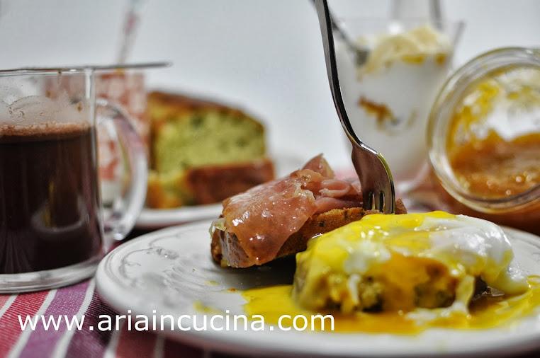 Blog di cucina di Aria: Uova in camicia e la mia colazione italo ...