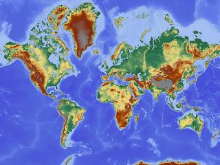 Pengertian Peta Beserta Batasan dan Jenisnya