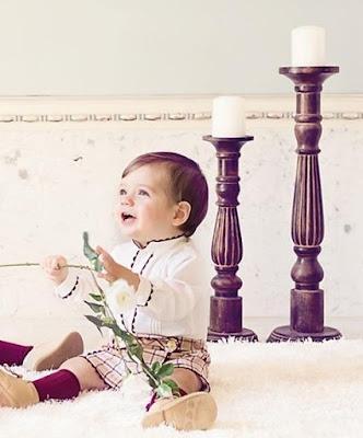 pantalón y camisa bebé dolce petit