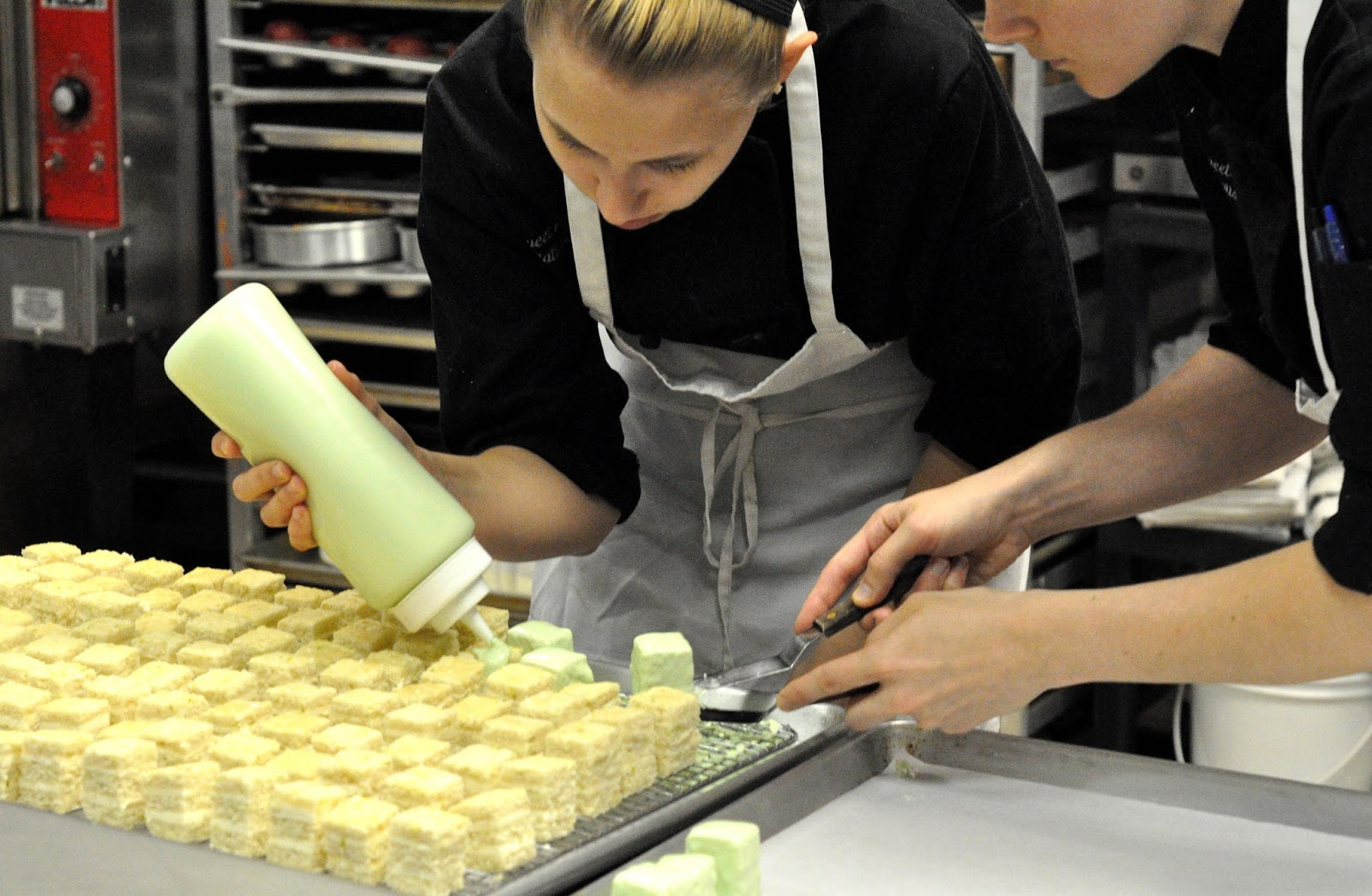 a lesson in petit fours from sweet hearts patisserie annapolis fork