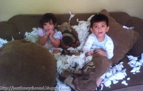 Funny kids.