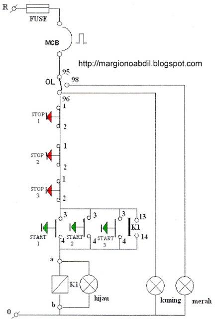Semua ada di sini mengoperasikan motor listrik dari cara kerja dari rangkaian instalasi tersebut di atas dapat dijelaskan secara singkat sebagai berikut jika ingin menjalankan motor dari tempat 1 tinggal ccuart Gallery