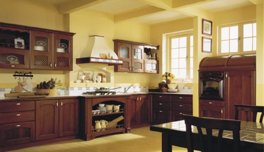 25 fotos de decoracion cocinas clasicas decoraci n del for Cocinas clasicas