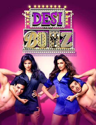 Poster Of Desi Boyz (2011) All Full Music Video Songs Free Download Watch Online At downloadhub.net