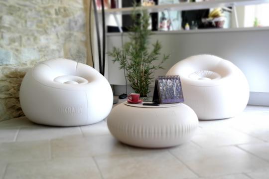 home garden sokamp le mobilier gonflable design. Black Bedroom Furniture Sets. Home Design Ideas