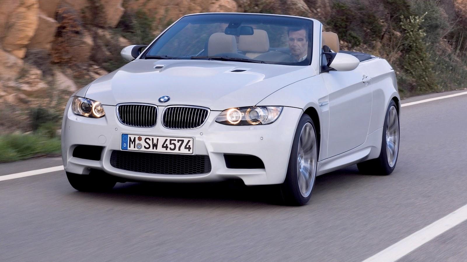 White BMW Car Wallpaper HD