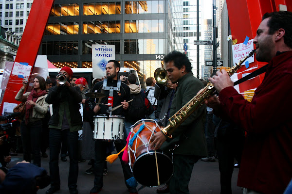 Musicians at Occupy Wall Street