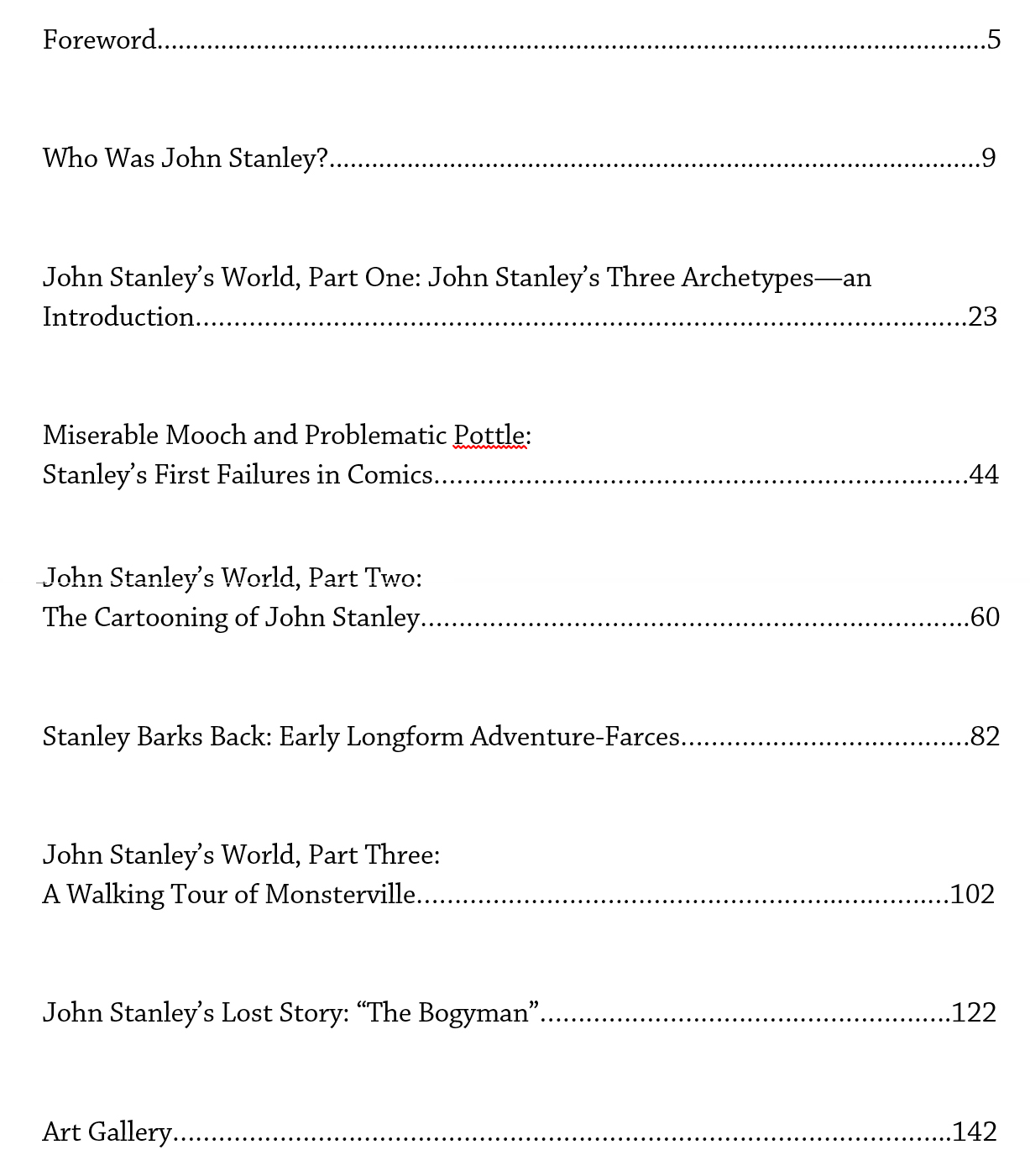 eight modern essayists table contents