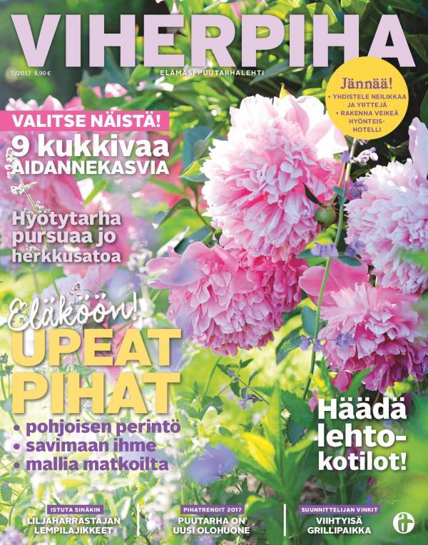 Esittely VIHERPIHAssa KESÄKUU nro 7 2017