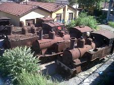 Vieilles locomotives à Volos