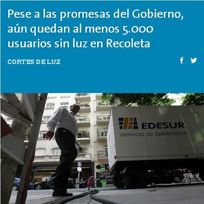 LA NACION, GOBIERNO PORTEñO