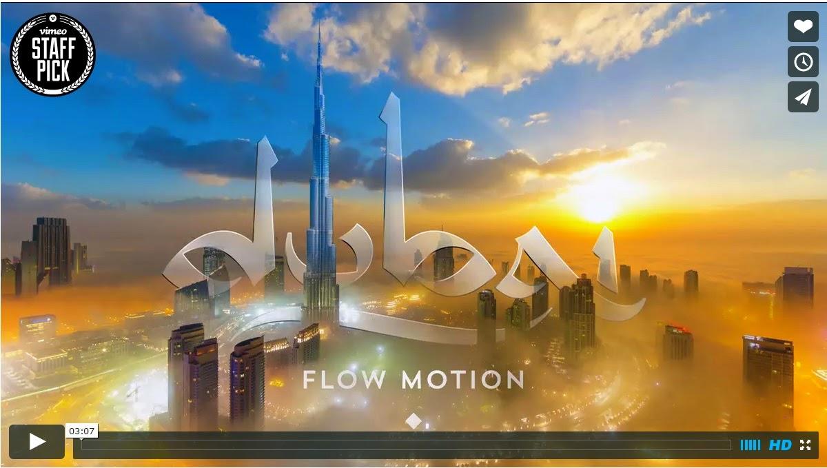 Dubai in flow-motion