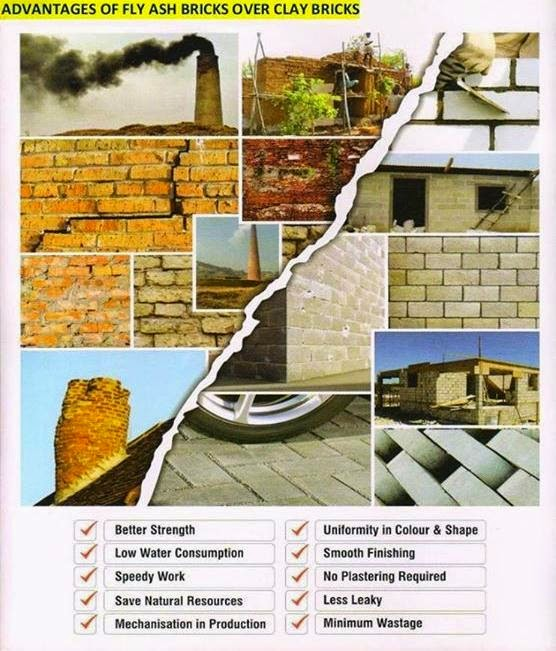 Fly ash brick guide advantage of fly ash brick - Aac blocks vs clay bricks ...