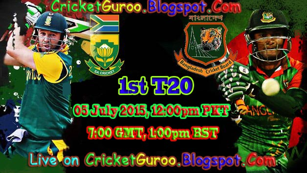 Bangladesh vs South Africa 1st T20 Live Streaming