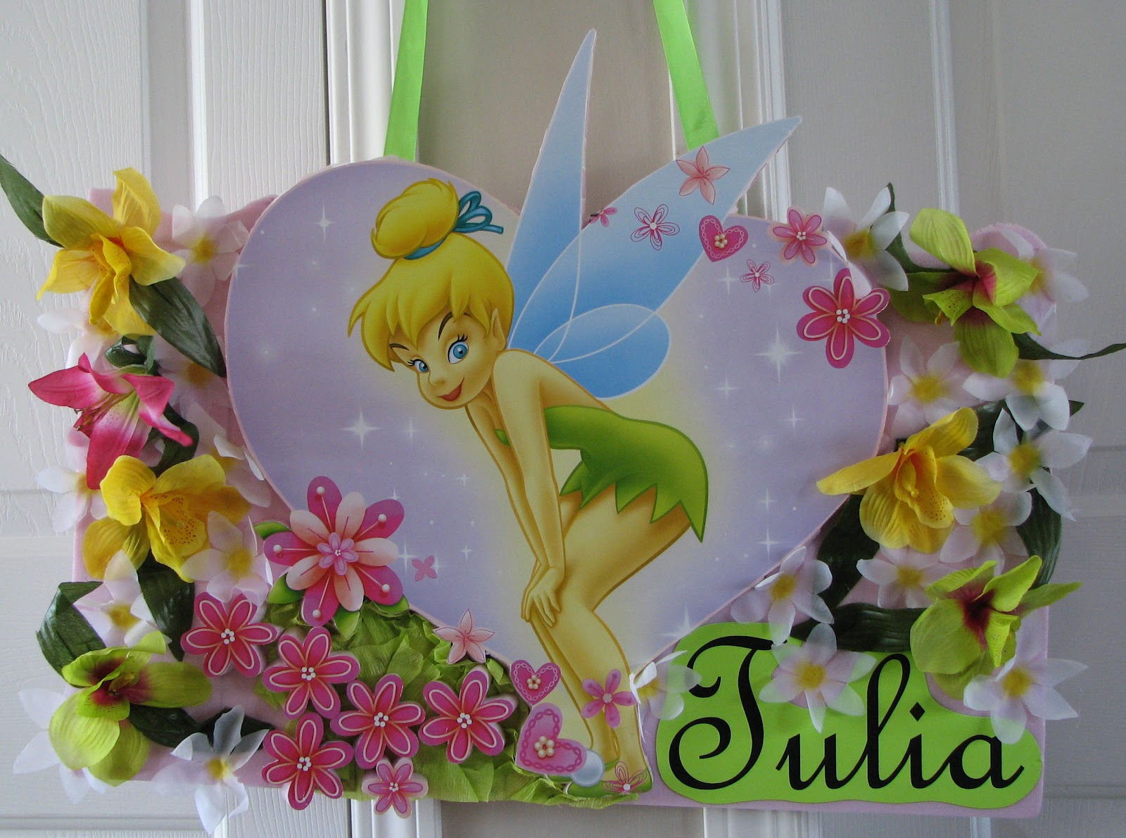 Utopia Party Decor: Tinkerbell Party