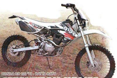 Honda CB Modif Trail