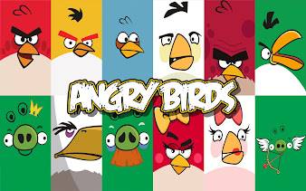 #1 Angry Bird Wallpaper