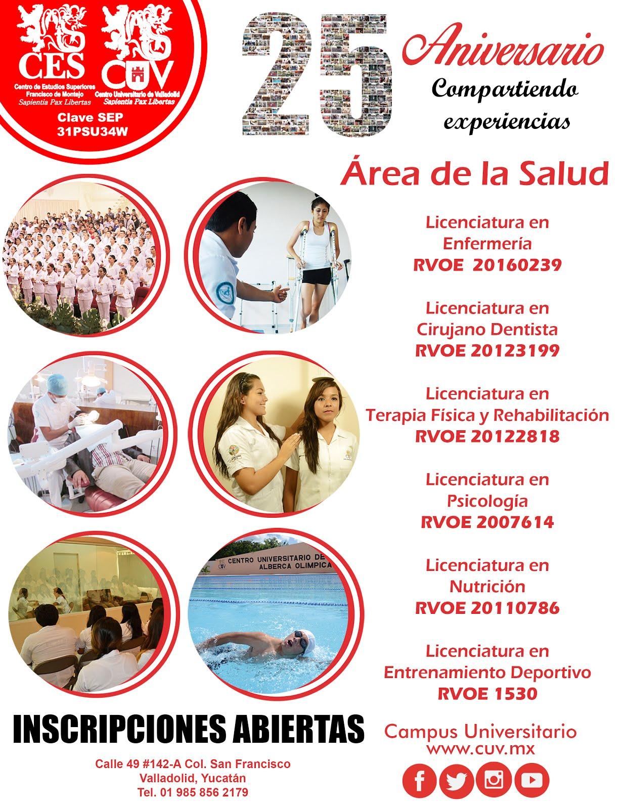 Centro universitario Valladolid , 25 años formando profesionistas