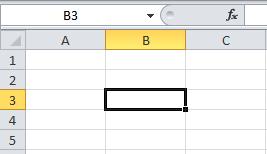 Desplazarse por la hoja de cálculo de Excel 2007