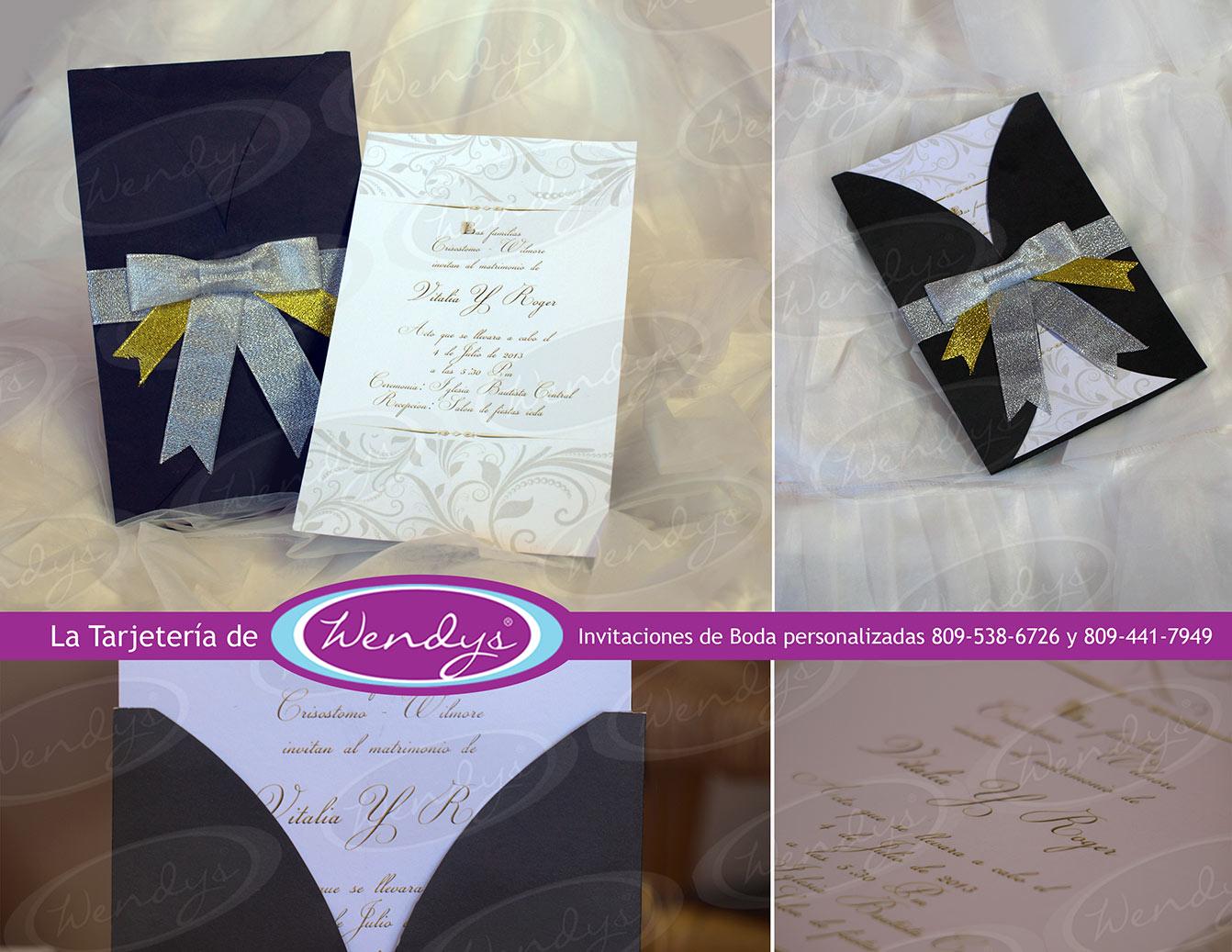 Invitaciones de boda pictures to pin on pinterest tattooskid - Tarjeta de boda ...