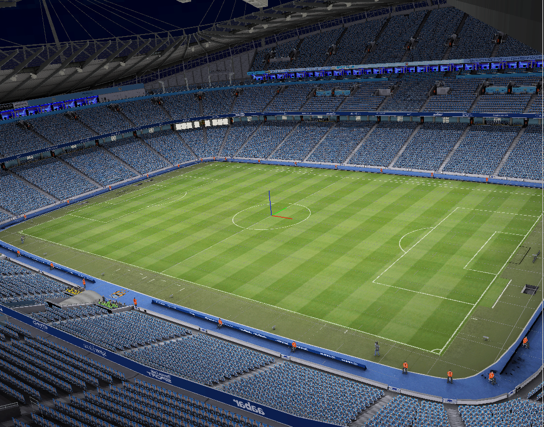 Stadium ETIHAD [Mancehster City] PES6
