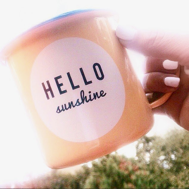 hello sunshine mug old navy