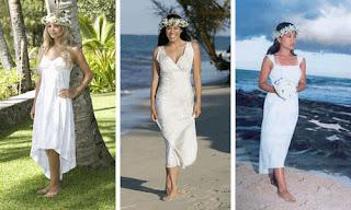 imagens de Vestidos para Casamento na Praia