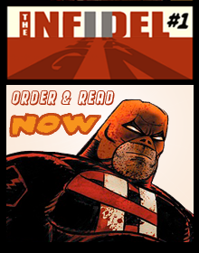 THE INFIDEL #1 Featuring PIGMAN