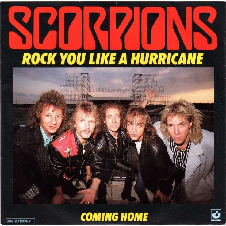 Rock you like an hurricane. Scorpions