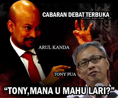 Arul Kanda Sahut Cabaran Debat Tony Pua #1MDB