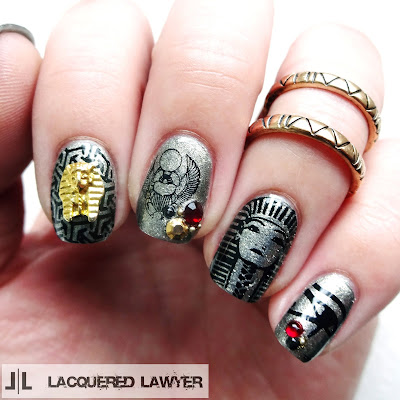 Lacquered Lawyer Nail Art Blog Ancient Egypt