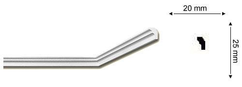 Sanca Nomastyl E - 3,5 cm de largura