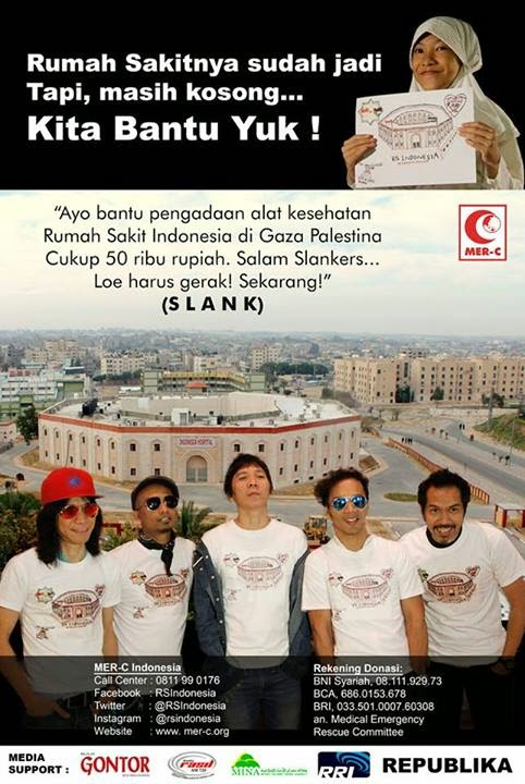 Donasi RS Indonesia di Palestina
