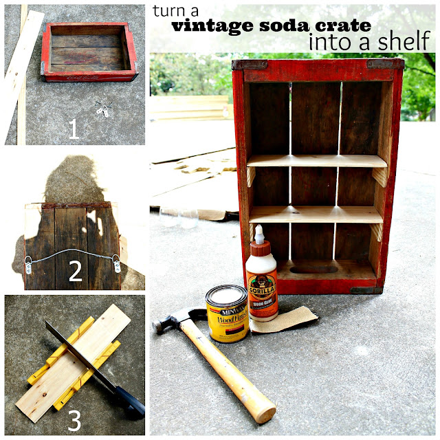 vintage soda crate project