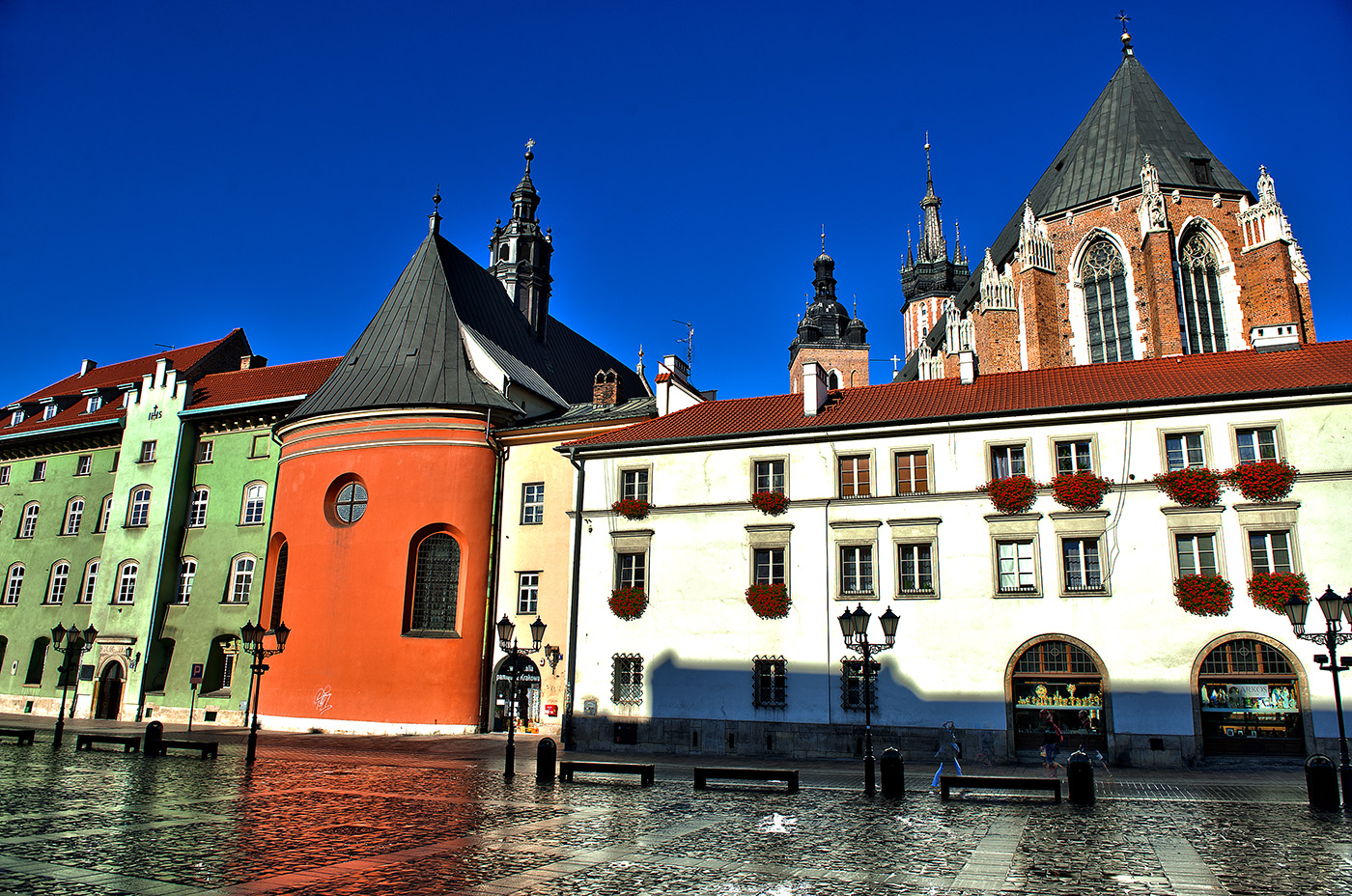 Krakow Poland Old Town Square
