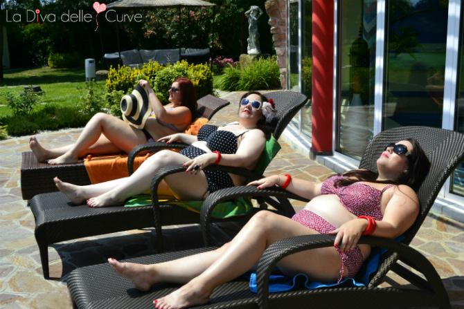 bikini a pois curve pericolose e evans